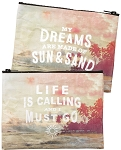 Zipper Pouch - Life Is Calling