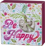 Box Sign - Be Happy