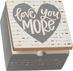 Hinged Box - Love You More