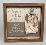 Inset Box Frame - What You Love
