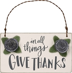 Ornament - In All Things Give Thanks