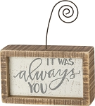 Inset Photo Block - It Was Always You