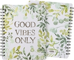 Spiral Notebook - Good Vibes Only