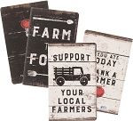 Lg Notebook Set - Farm