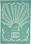 Dish Towel - Camping Is My Therapy