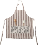 Apron - More Wine