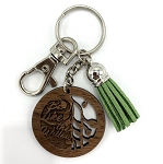 Silver Keychain - Be Like The Willow