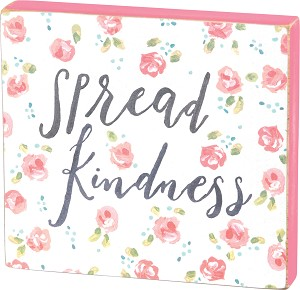 Block Sign - Spread Kindness