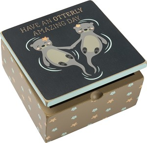 Hinged Box - Have An Otterly Amazing Day