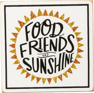 Magnet - Food Friends and Sunshine