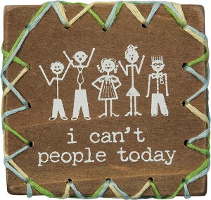 Stitched Block - I Can't People Today
