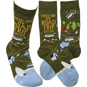 Socks - These Are My Road Trip Socks