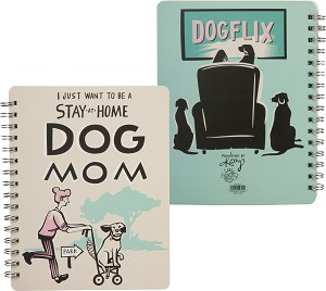 Spiral Notebook - Stay At Home Dog Mom