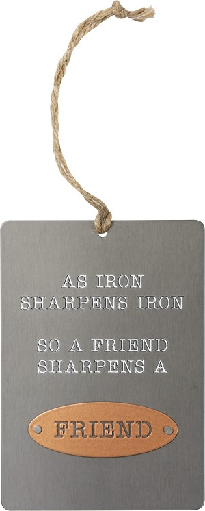 Ornament - As Iron Sharpens Iron