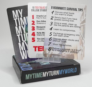 My Time, My Turn, My World Playing Cards